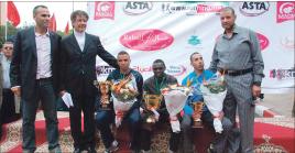 الكيني كمندي يفوز بسباق على الطريق بمراكش