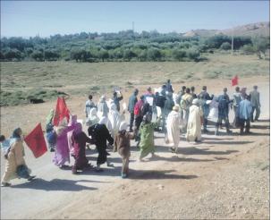 الأمن يحاصر ميسور لمنع تدفق سكانها إلى ميدلت