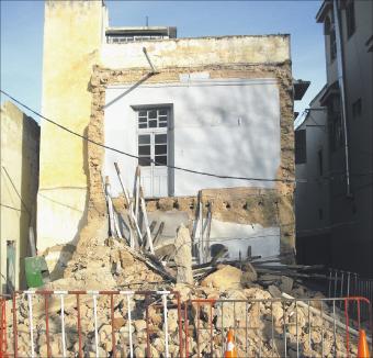 انهيار منزل بالمدينة القديمة ببني ملال