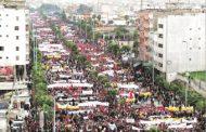تغطية إعلامية إسبانية باهتة لمسيرة البيضاء