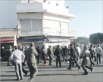 ضحايا التدخل الأمني بأكادير يقاضون الدولة والأمن