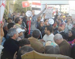 20 فبراير بالمحمدية تطالب بحل البرلمان