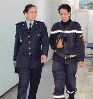 300 امرأة في صفوف الوقاية المدنية