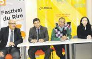 تكريم بوشعيب البيضاوي في المهرجان الدولي للضحك
