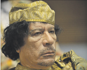 مثقفون مغاربة ينددون بمجازر القذافي