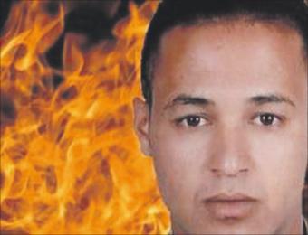 مغربي بإيطاليا يحترق احتجاجا