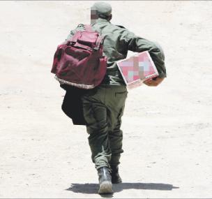 عسكري معزول بمراكش حاول الإحتراق