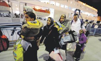 الثوار الليبيون ينسحبون من بن جواد