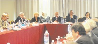 لقاء تحضيري للتقرير الثقافي الرابع لمؤسسة الفكر العربي
