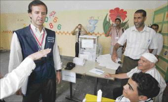 السماح للمنظمات الأجنبية بتتبع الانتخابات المقبلة