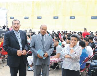 سجناء إصلاحية عكاشة يحتفلون بنهاية الموسم الدراسي