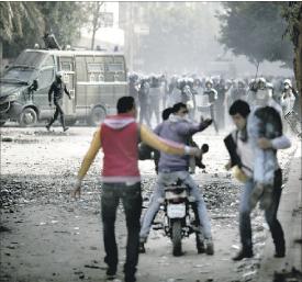 مصر بعد سنة على تنحي مبارك