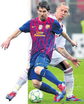 برشلونة يسعى إلى تحطيم الأرقام أمام ميلان
