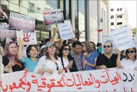 مشروع قانون يشدد العقوبات ضد المتحرشين ومعنفي النساء
