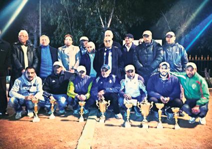 الحرية للكرة الحديدية بالمحمدية يفوز ببطولة الشاوية