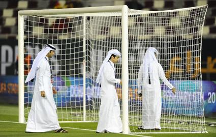 قطر تسجل هدفا آخر في مرمى