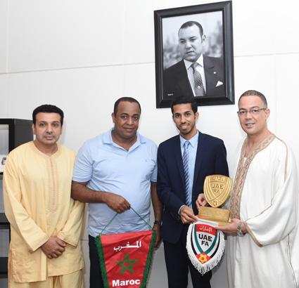 أبو ظبي الرياضية تنقل الوداد والعين