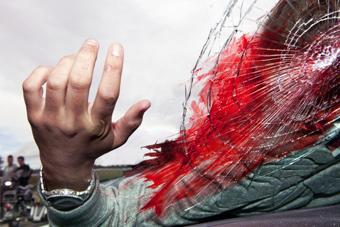 حادثة سير تكشف أسلحة نارية لتجار مخدرات ببرشيد