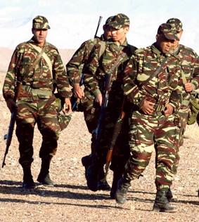 الجيش المغربي يستعد لحرب برية في اليمن