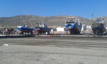 وضعية كارثية لتجهيزات ميناء أكادير