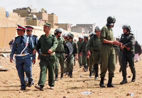 فرق أمنية لوقف معارك الانتخابات