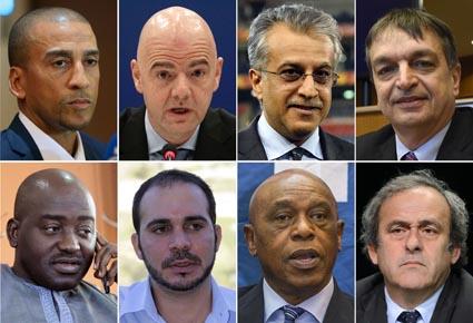 ثمانية مرشحين لخلافة بلاتر