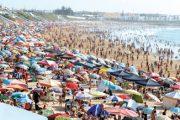 ربورتاج: شواطئ الجديدة تحولت إلى أسواق