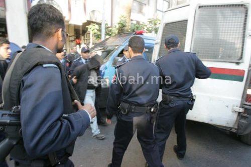 أمن مراكش يضع يده على مجرم خطير