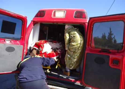 إصابة امرأة في انهيار منزل بمراكش