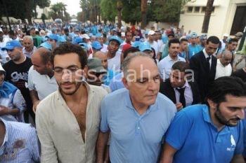 عاجل. مزوار ونوال المتوكل وبوسعيد محاصرون مدة 4 ساعات