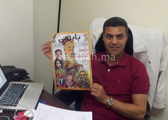 الرسام الكاريكاتوري كدار يتلقى تهديدا بالقتل بعد نشره الرسم الأردني المقتول