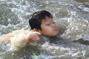غرق طفل بحفرة بتاركيست