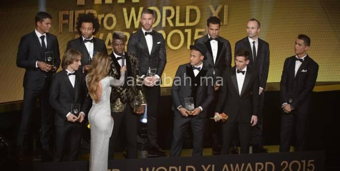 بالصورة ... هؤلاء هم المرشحين لنيل الكرة الذهبية