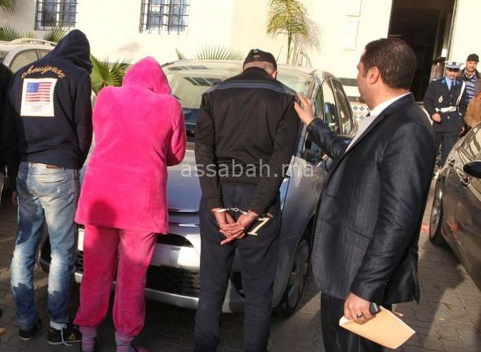 خادمة ضمن عصابة لسرقة الشقق والفيلات