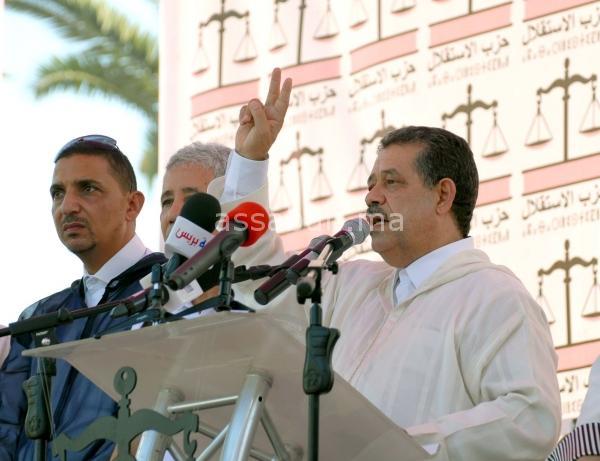 شباط: انتخابات 7 أكتوبر ضربة قوية للديمقراطية المغربية الفتية وسنشارك في حكومة بنكيران
