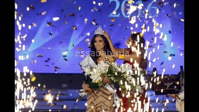 بالصور ... هذه هي ملكة جمال لبنان 2016