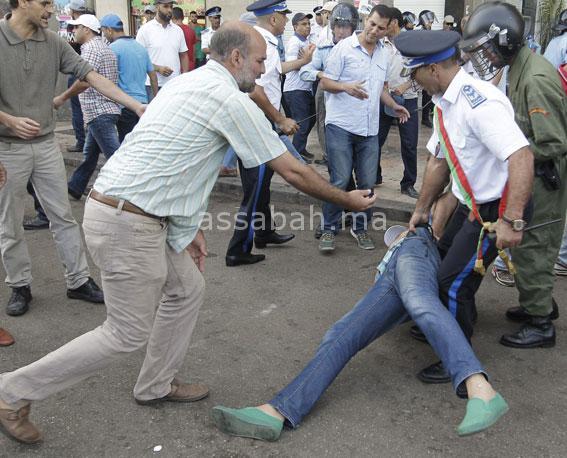 مصادرة الحق في الاحتجاج