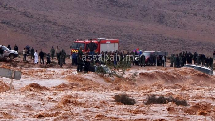 بعد فيضانات اليوم وأمس ... الأمطار تتراجع في المملكة نسبيا غدا