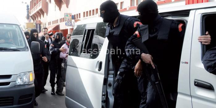 اعتقال إرهابي جديد بتيفلت كان يحضر لسلسلة تفجيرات خطيرة