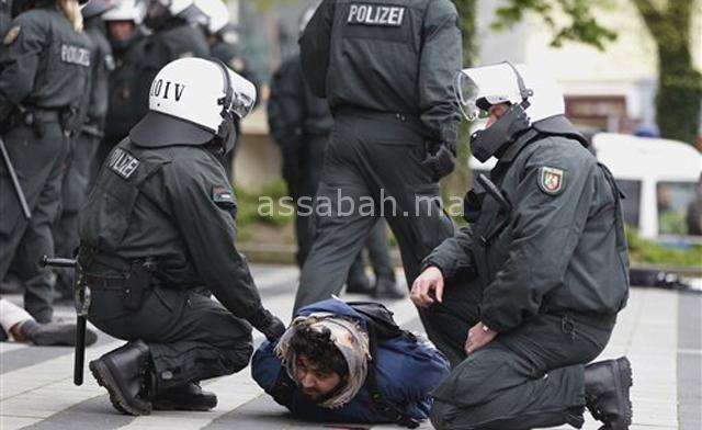 اعتقال مغربي