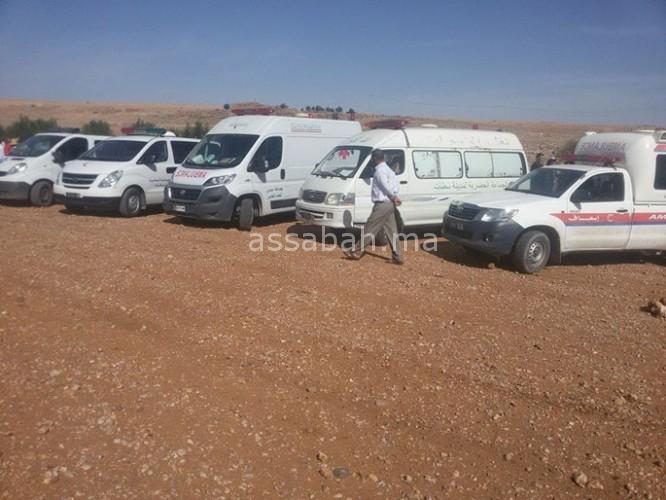 جماعة أولاد فارس في حداد بعد فاجعة الثلاثاء الأسود
