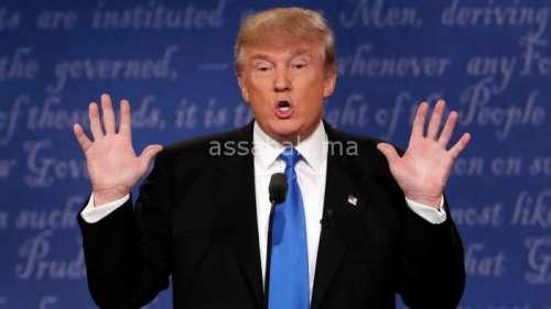 شخص نصب على شخصيات هامة بالبيضاء باسم ترامب