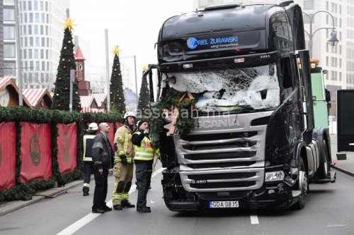 شرطة برلين: عملية الدهس الدامية أمس كانت متعمدة