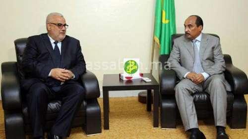 بنكيران التقى الرئيس الموريتاني وهذا ما دار بينهما