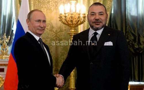 بوتين يبارك عيد الشباب للملك