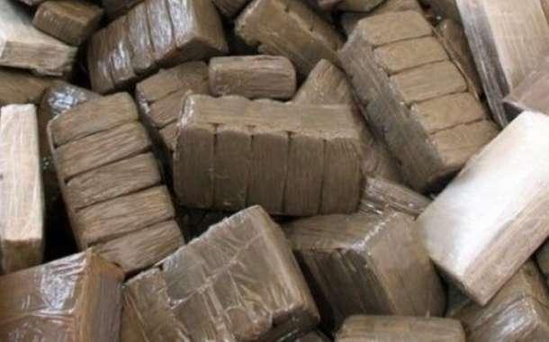 إتلاف أكثر من 6 أطنان من مخدر الشيرا بالعيون