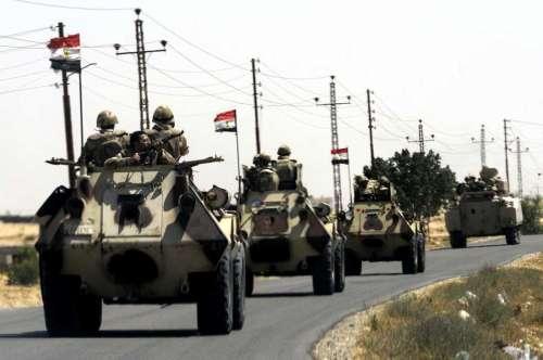 الآن... سيناء تشهد حربا ضارية بين الجيش المصري ومسلحين