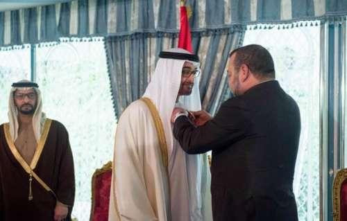 رسالة من الملك محمد السادس إلى رئيس الإمارات