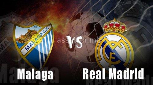 بث مباشر ... ريال مدريد VS ملقا (الدوري الإسباني)