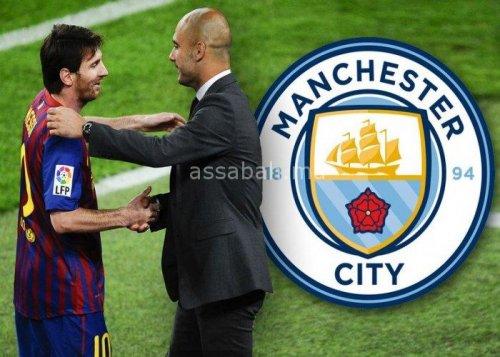مفاوضات بين مسؤولي برشلونة ومانشستر سيتي لانتقال ميسي